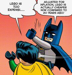 LEGO Batman... schoolin' Robin.