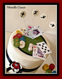 Poker cake  Cake by Mariella Cascio