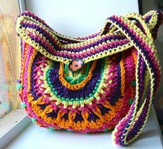 Mandala Purse Crochet Pattern