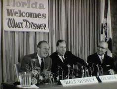 Today in Disney History: Walt Disney Was Born in 1901 + announcement of WDW