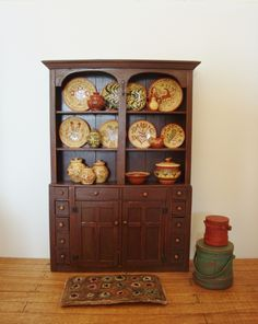 Double-Tombstone-Cupboard, Bubba's Country Cupboards