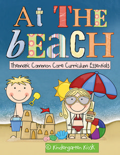 This 109 page unit, At the Beach, is strategically linked to the Common Core Standards.