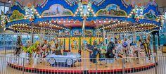 Carol Ann's Carousel at Smale Riverfront Park - photo from Cincinnati Parks;  Ohio