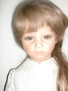 1985 Annette Himstedt Paula Barefoot Children Series Doll In Box ...