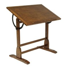 80422b9e42dfd Studio Designs Vintage Drafting Table - Solid Hardwood - 36 x 24 x 34.25  inches