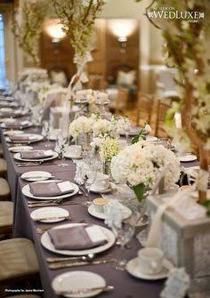 Grey wedding inspiration   Photo: Jayme Morrison