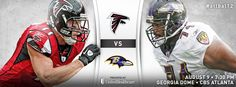 Falcons vs. Ravens cover photo