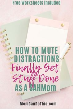 Eliminate distractions and get massive amounts of stuff done as a mom. Find focus and get seriously great work done today! Free printables for a headstart. Organizing Tips, Organization Hacks, Productivity Quotes, Brain Dump, Time Management Tips, Blog Planner, Head Start, Work From Home Moms, Mom Blogs