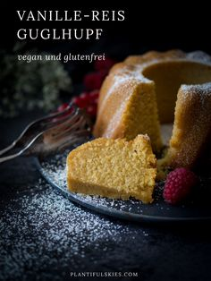 A gluten-celebration Gugl who gets by completely without flour. Super juicy and easy-going. Vegan, delicious and super fast! A gluten-celebration Gugl who gets by completely without flour. Super juicy and easy-going. Vegan, delicious and super fast! Gluten Free Recipes, My Recipes, Baking Recipes, Cake Recipes, Vegan Recipes, Dessert Recipes, Diet Desserts, Healthy Desserts, Running Food