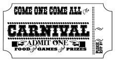 New Carnival invitation printable freebie