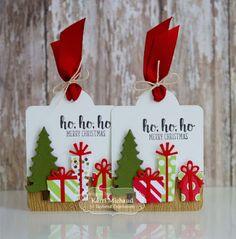 Cards by Kerri: holiday gift tags | TE Sneak Peeks: Ho, Ho, Ho Merry Christmas!