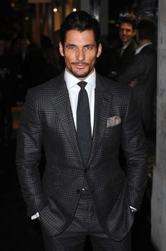David Gandy - Karl Lagerfeld Store opening London - march 13, 2014