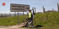 Initial part of the french camino to Santiago de Compostela.