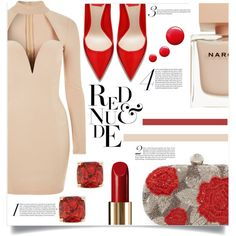 A fashion look from February 2017 by kaymeans featuring Rare London, Santi, Kate Spade, Lancôme, Narciso Rodriguez and Topshop