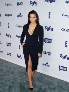 May 15, 2014 -Kim Kardashian at the 2014 NBCUniversal Cable Entertainment Upfronts in NYC.