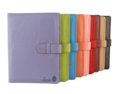 A4 Leather PadFolio / Portfolio / Pad Holder with 2 inside pockets. Personalized & available in different colors
