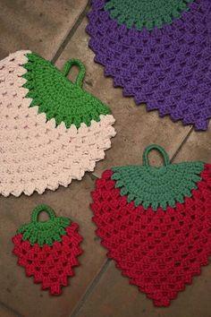 Crochet Sachet, Crochet Hot Pads, Crochet Potholders, Crochet Tote, Filet Crochet, Crochet Crafts, Crochet Doilies, Yarn Crafts, Crochet Projects
