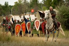 """in August, an interesting event, held near Samara near Birches village. """"Feat of arms"""" military historical festival."""