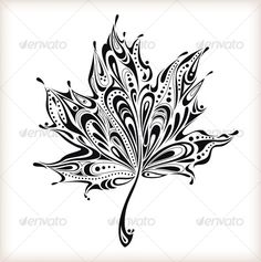 OMGoodness...If I could have this idea translated to a sprig of three Quakie Leaves it would be the PERFECT shoulder tattoo!!!!
