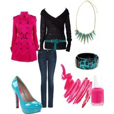 Casual Day, created by kandikarli17.polyvore.com