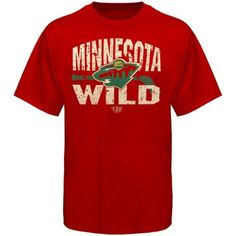 Old Time Hockey Minnesota Wild Five For Fighting Rockaway T-Shirt - Red