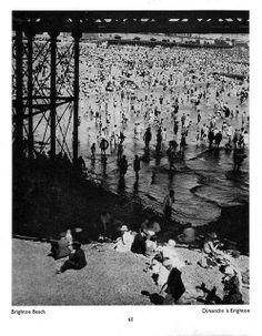 """""""Brighton beach"""" by Bill Brandt from his book """"The English At Home"""" (1936)"""