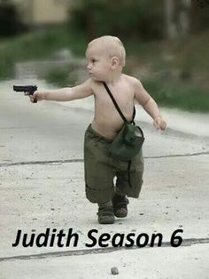 Lol judith the walking dead