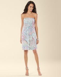 Soma Intimates Violet Dress Artisan Paisley Ivory #somaintimates Soma Sweepstakes