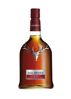 The Dalmore Cigar Malt Reserve [Tropical fruity notes, hints of banana toffee and vanilla ice cream, with a long, spicy finish of orange zest and bergamot on the palate.]
