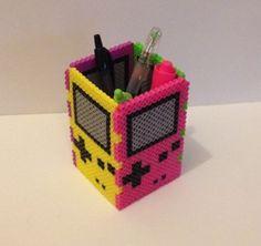 Nintendo Game Boy Color Bead Box & Pen Holder by ThePixelizedPrincess