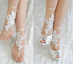 www.feminiya.com Lace foot jewelry