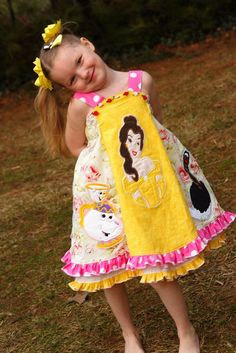 Disney clothing! Amazing! But, wow. Look at all the work that goes into it.