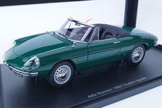 新品70138 オートアート1/18 アルファロメオ 1600 デュエット スパイダー グリーン Car, Image, Automobile, Vehicles, Cars