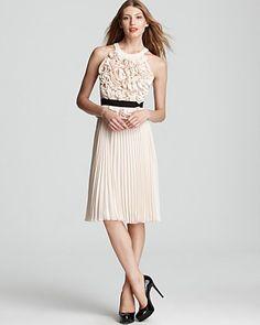 481d4faf1f BCBGMAXAZRIA Pleated Dress - Safina Floral Women - Dresses -  Bloomingdale s. Cintura ElásticaFalda ...
