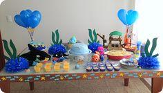 Decoração : Festa Fundo do Mar
