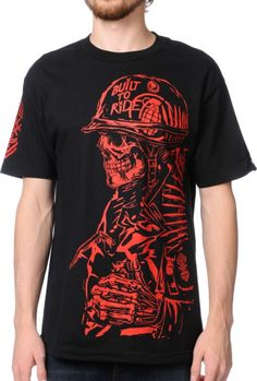 Metal Mulisha X Grenade Pull the Pin Black T Shirt.