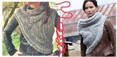 Aufgepasst, der Winter kommt! In diesem Tutorial wird erklärt, wie man sich Katniss Everdeen's Schal nachhäkeln kann.