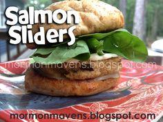 Mormon Mavens in the Kitchen: Salmon Sliders