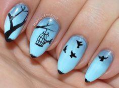 Love Bird Nail Art Nail Art Ideas And Inspiration Pinterest