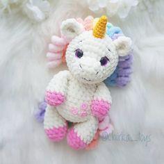 Unicorn Amigurumi PDF English Pattern Crochet Unicorn | Etsy