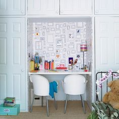 fester Bereich für Kinderbildergalerie Rahmen auf Wand vordefiniert. Wechselausstellung mgl.