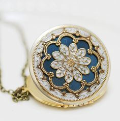Vintage Locket. $62.99 via Etsy.