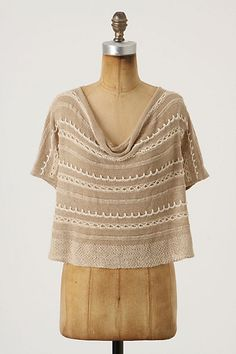 Arid Hues Sweater by Knitted & Knotted