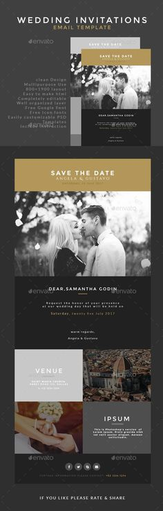 Template event invitation email template send smarter email wedding invitation email template stopboris Images