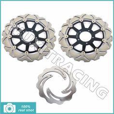 320mm+245mm Motorcycle Full Set Front Rear Brake Discs Rotors for DUCATI 998 Testastretta MONSTER S4R S 2006 2007 2008 06 07 08  #Affiliate