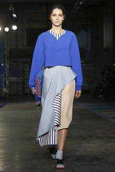 Roksanda Ilincic Ready To Wear Fall Winter 2014 London - NOWFASHION