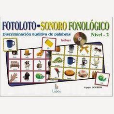 """Os presento un material bajo el título de """"MI FOTOLOTO SONORO FONOLÓGICO"""". El material aquí presentado proporciona actividades de análisis ..."""