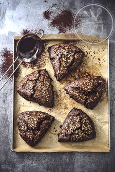 Scones cacao coco