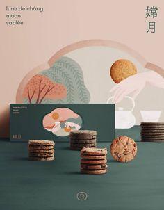 33 Ideas For Design Packaging Cookies Branding Cookies Branding, Cookie Packaging, Tea Packaging, Brand Packaging, Design Packaging, Cake Branding, Web Design, Food Design, Layout Design