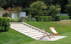 andrew wilson + gavin mcwilliam landscape architects / residence 1 at st. georges hill, surrey